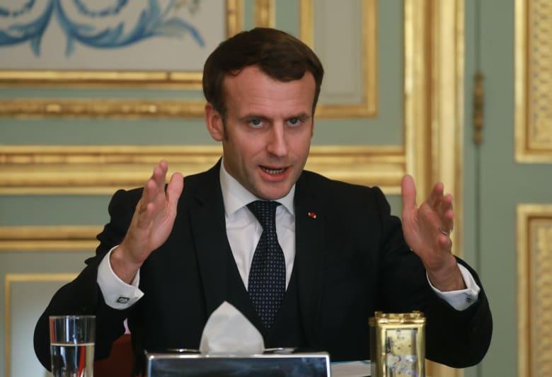 """الرئيس الفرنسي يطلق عملية عسكرية بشعار """"الصمود"""" لمواجهة كورونا"""