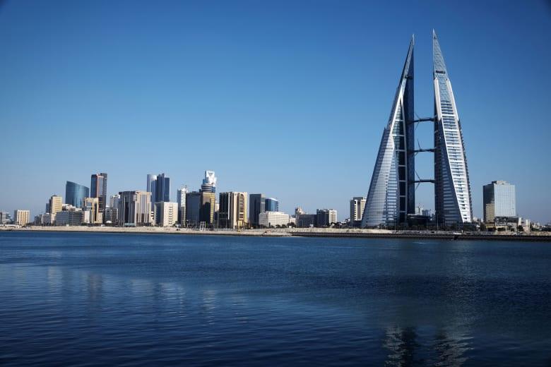 صورة عامة من العاصمة البحرينية، المنامة