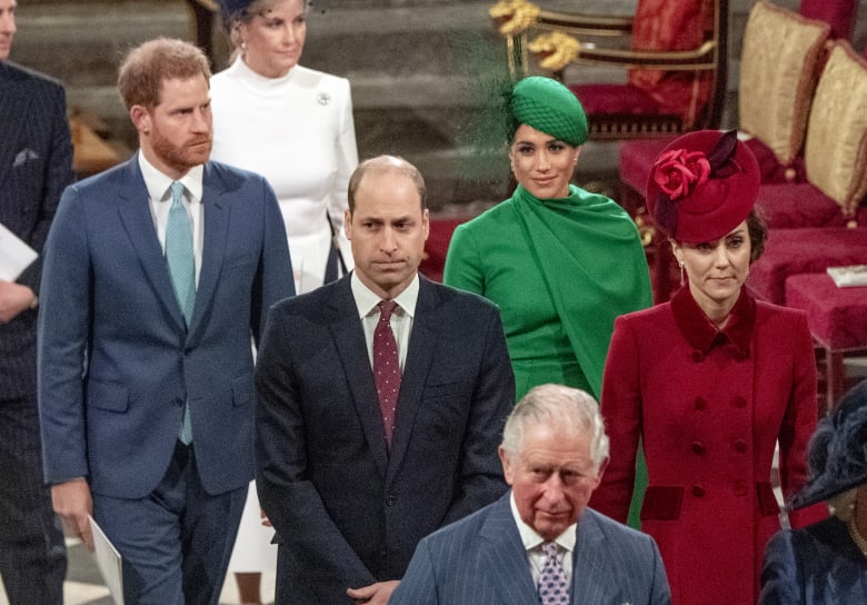 الأمير هاري وزوجته ميغان ميركل في آخر المناسبات الملكية في بريطانيا قبل تخليهما عن دورهما