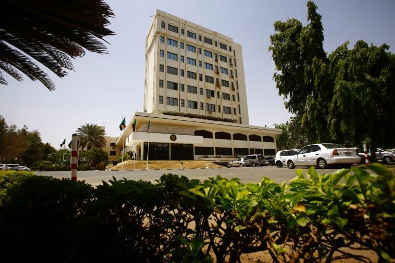 صورة أرشيفية لمبنى وزارة الخارجية السودانية