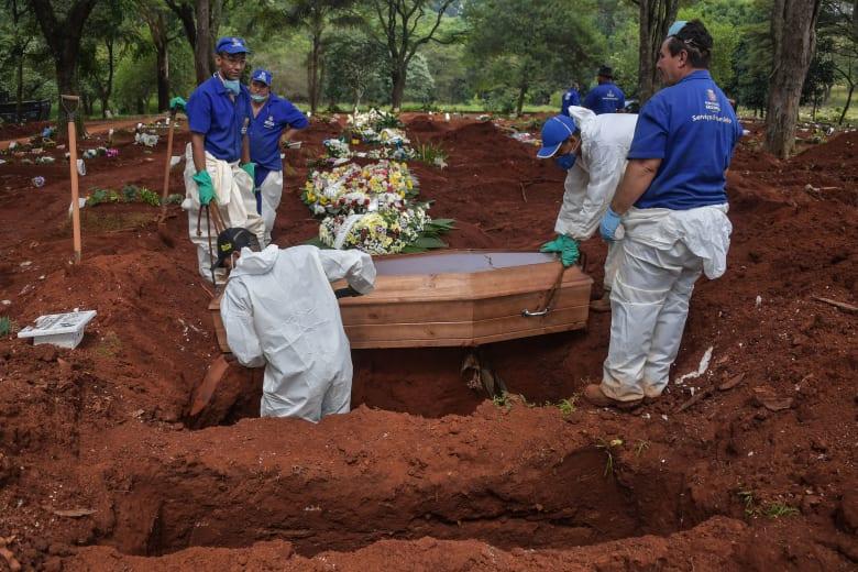 البرازيل: ارتفاع وفيات كورونا إلى 240.. وإجمالي الإصابات 6836