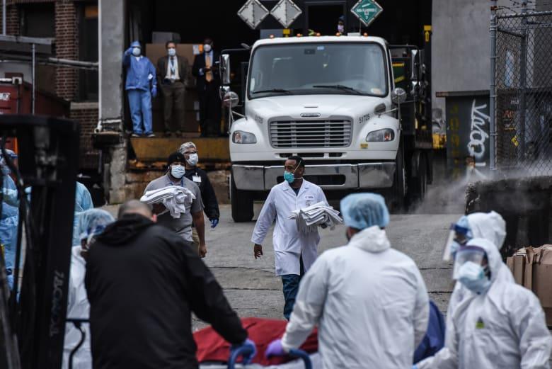 928 حالة وفاة جديدة.. الولايات المتحدة تسجل أكبر معدل وفيات في يوم واحد