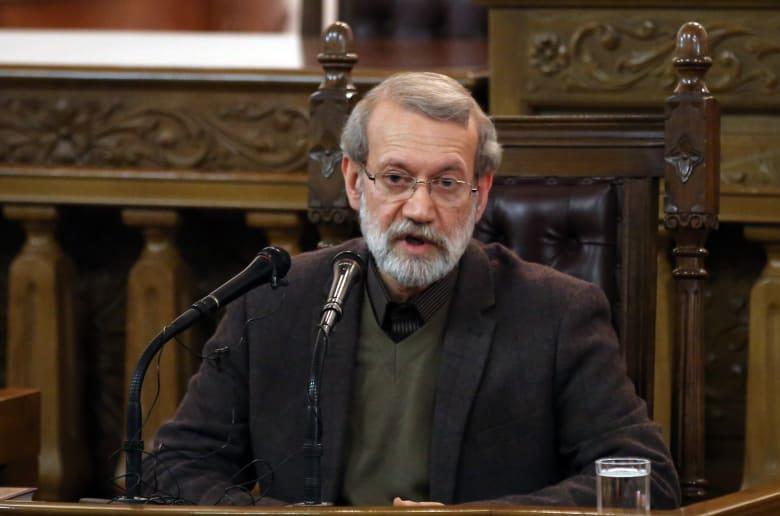 علي لاريجاني رئيس مجلس الشورى في إيران