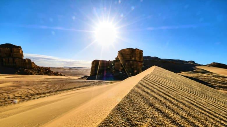 مدينة الفيوم في مصر