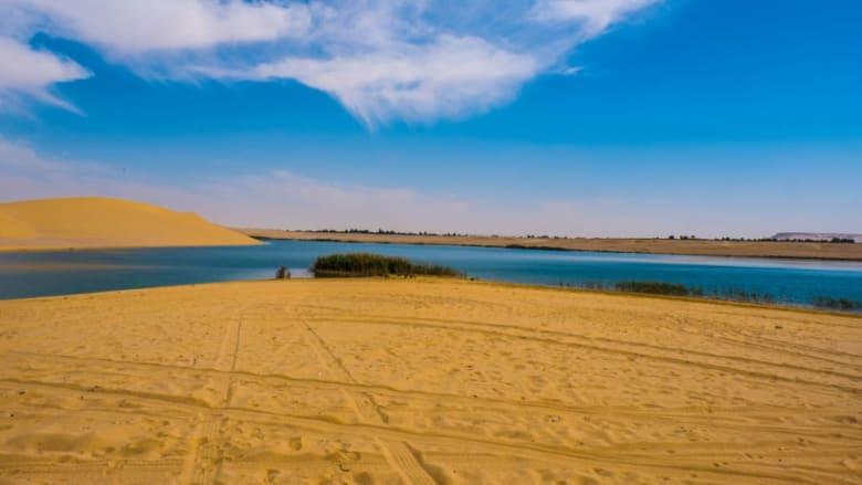 """البحيرة """"المسحورة"""" في مصر"""