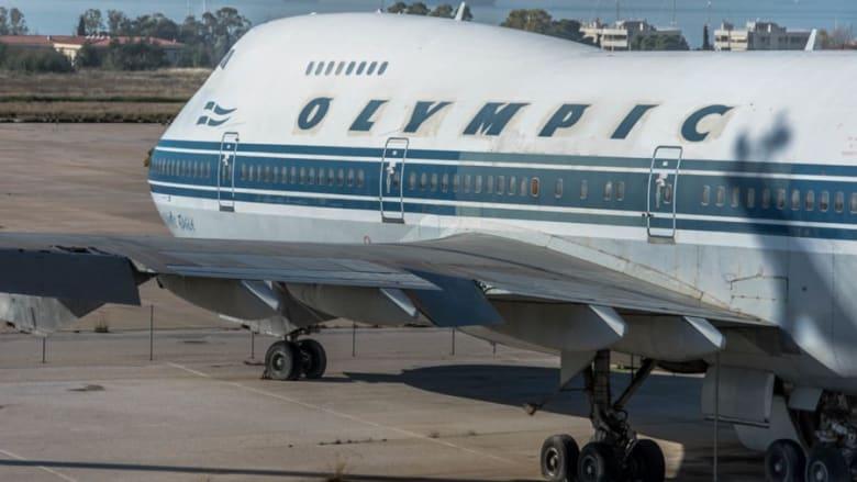 المطار اليوناني الذي ترك للانهيار
