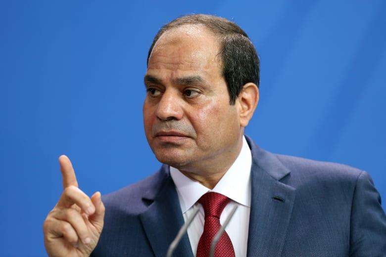 """السيسي: سرت والجفرة """"خط أحمر"""" لمصر.. وتدخلنا في ليبيا تتوفر له شرعية دولية"""