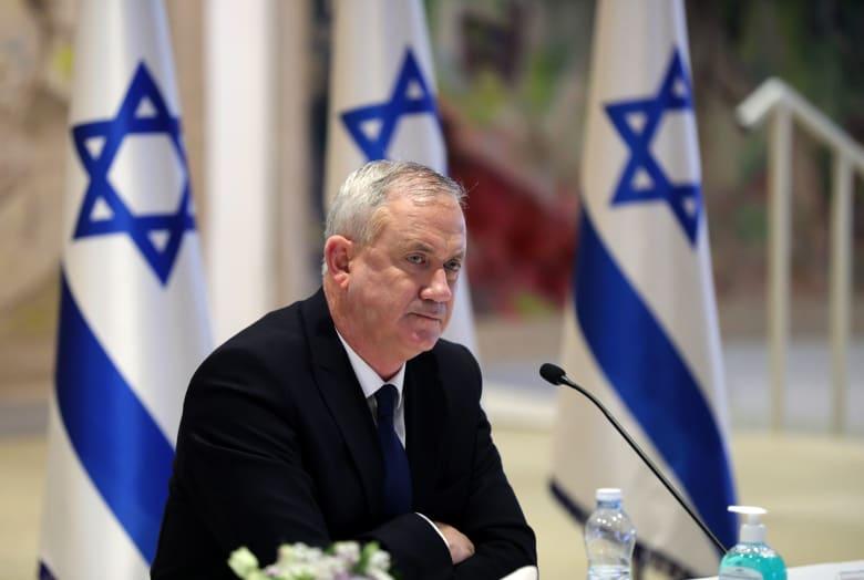 صورة أرشيفية لبيني غانتس، وزير الدفاع الإسرائيلي