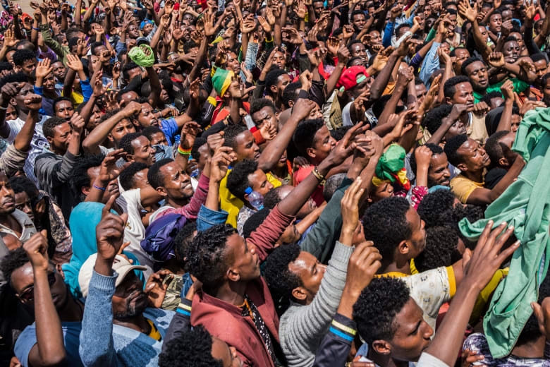 الحكومة الإثيوبية تقطع الإنترنت أثناء احتجاجات واسعة على مقتل فنان في أديس أبابا