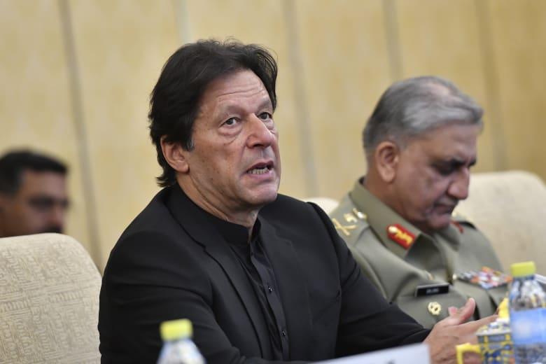 صورة أرشيفية لرئيس الوزراء الباكستاني، عمران خان