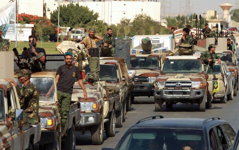 """بعد تصريحات حول مقتل عناصر """"فاغنر"""" الروسية بقصف لحكومة الوفاق.. المتحدث باسم """"بركان الغضب"""": طيران مجهول"""