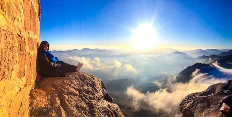 جبل موسى في جنوب سيناء