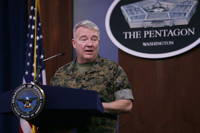 الجنرال كينيث ف. ماكينزي جونيور القائد العام للقيادة المركزية الأمريكية