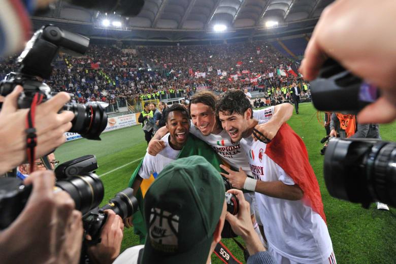 ميلان بطلا لإيطاليا