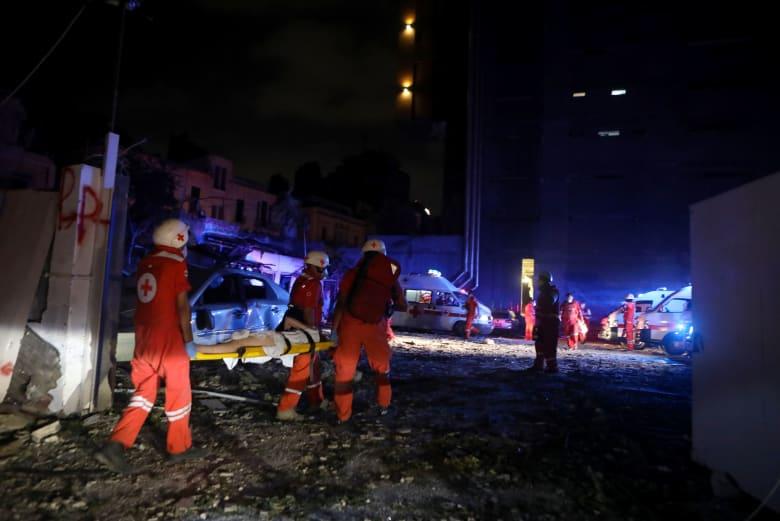 """انفجار بيروت.. حصيلة الضحايا ترتفع لـ78 قتيلا.. و""""كثير من المفقودين"""""""