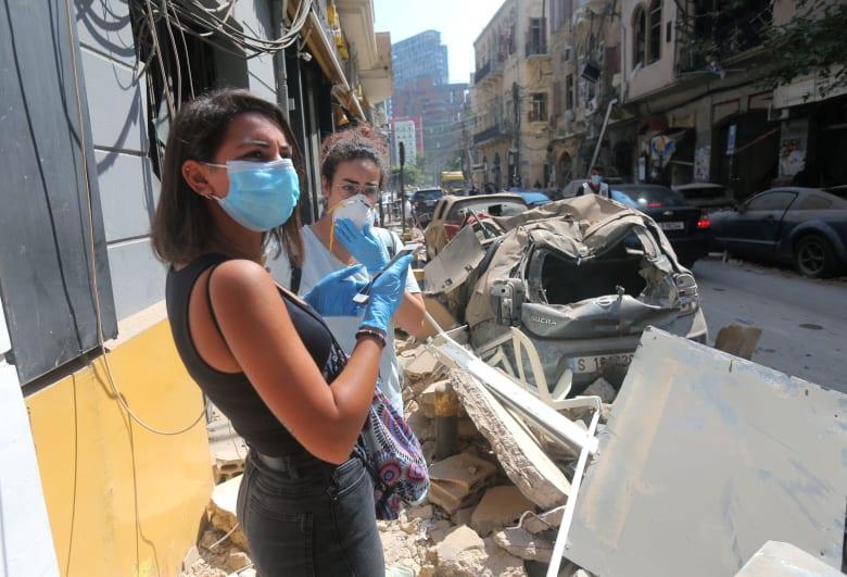 محافظ بيروت: منازل نصف سكان العاصمة غير قابلة للسكن بسبب الانفجار