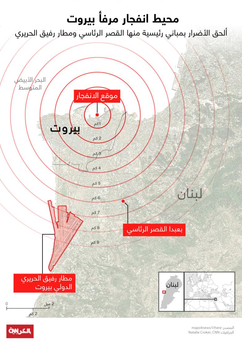 Beirut-map-blast-effect