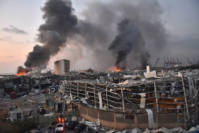 """""""أمن الدولة"""" اللبنانية: حذرنا من ثغرات أمنية وخطر نترات الأمونيوم بمرفأ بيروت قبل انفجارها"""
