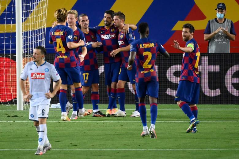 برشلونة يعلن إصابة أحد لاعبيه بفيروس كورونا.. فهل خالط البعثة التي ستواجه بايرن ميونخ؟