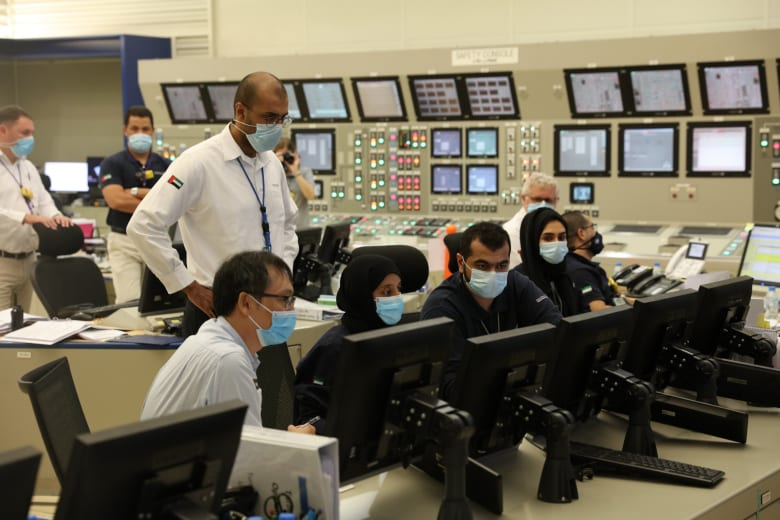 في الإمارات.. ربط أولى محطات براكة للطاقة النووية بشبكة نقل الكهرباء