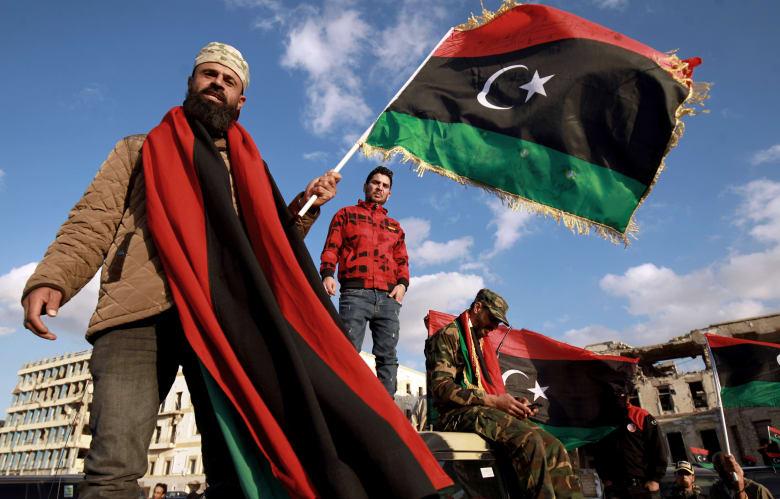 مظاهرات في بنغازي بعد فترة قصيرة احتجاجات طرابلس
