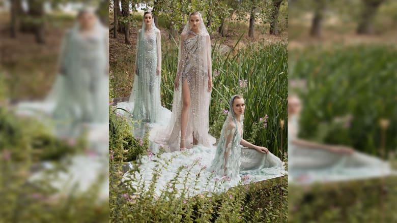 مجموعة إيلي صعب من الأزياء الراقية بيروت المصدر المقدس