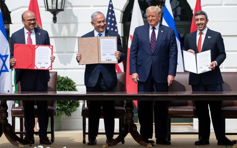 الإمارات والبحرين توقعان السلام مع إسرائيل في البيت الأبيض