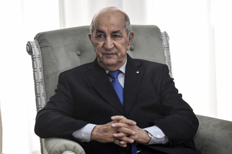 رئيس الجزائر يدخل الحجر الصحي بعد إصابات كورونا بنطاق الرئاسة والحكومة