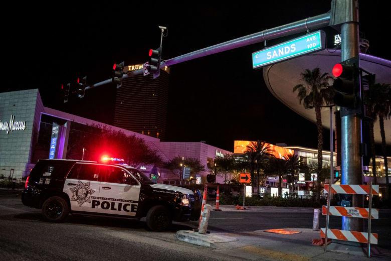 صورة أرشيفية لسيارة شرطة في لاس فيغاس بأمريكا