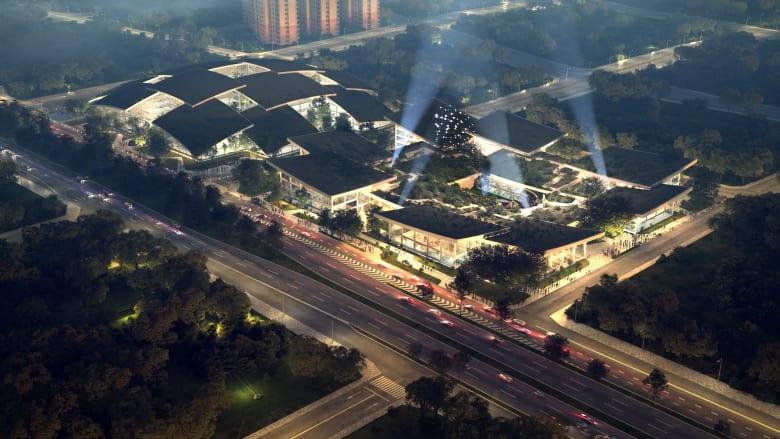 """AI CITY""، الصين"