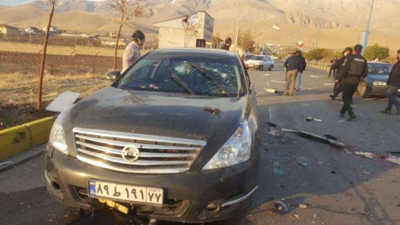 لقطات مُصورة تُظهر اللحظات الأولى لمقتل العالم النووي الإيراني البارز محسن فخري زاده