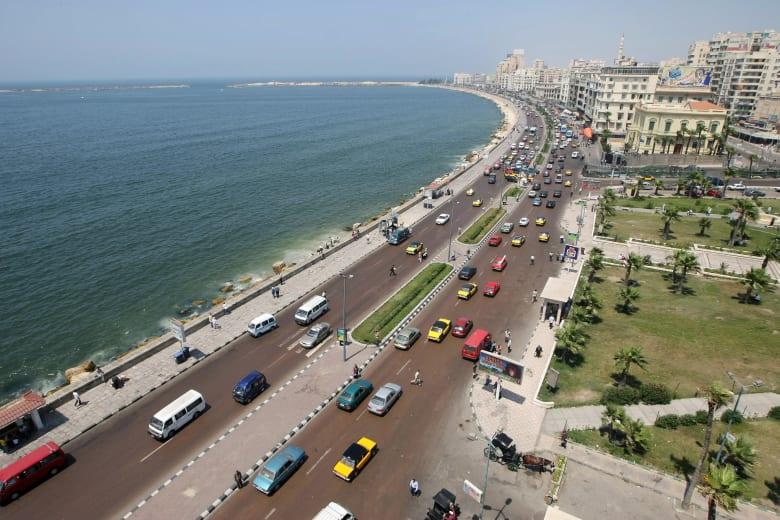 صورة أرشيفية من الإسكندرية في مصر