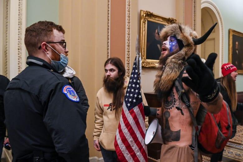 لقطة من اقتحام مبنى الكونغرس