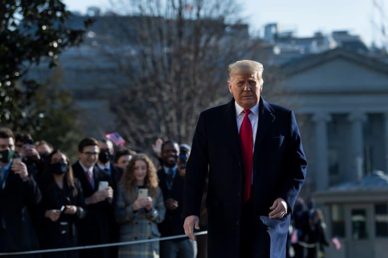 مجلس النواب يصوت لصالح عزل الرئيس الأمريكي دونالد ترامب