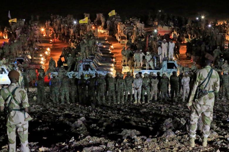 تدريب عسكري للجيش السوداني خارج الخرطوم - 30 أكتوبر تشرين الأول 2019