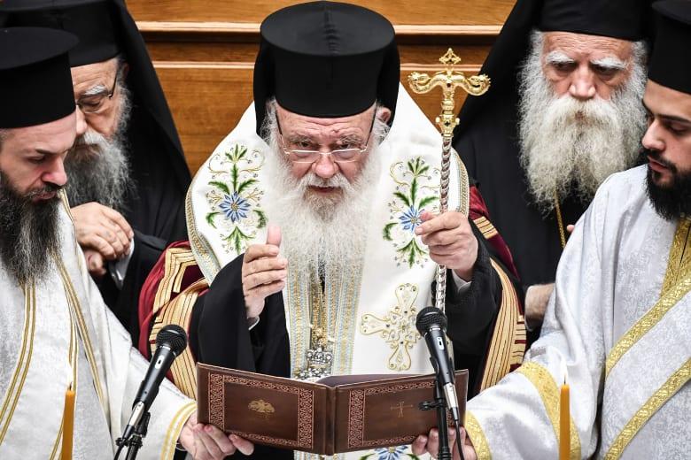 رئيس أساقفة أثينا واليونان إيرونيموس الثاني