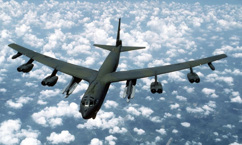 طائرة أمريكية من طراز من طراز B-52