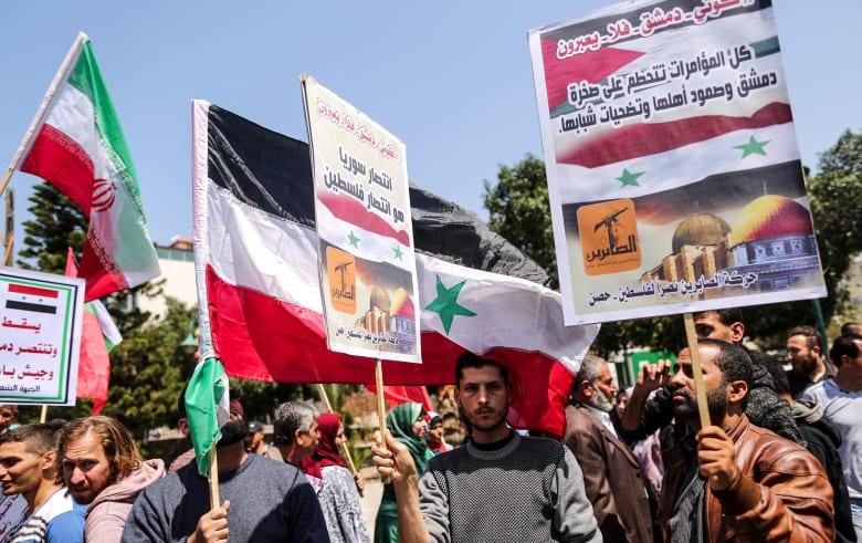 """بعد أنباء عن أجتماع مع مسؤولين إسرائيليين للتخلص من إيران.. سوريا تنفي: نخدم """"القضية الفلسطينية"""""""