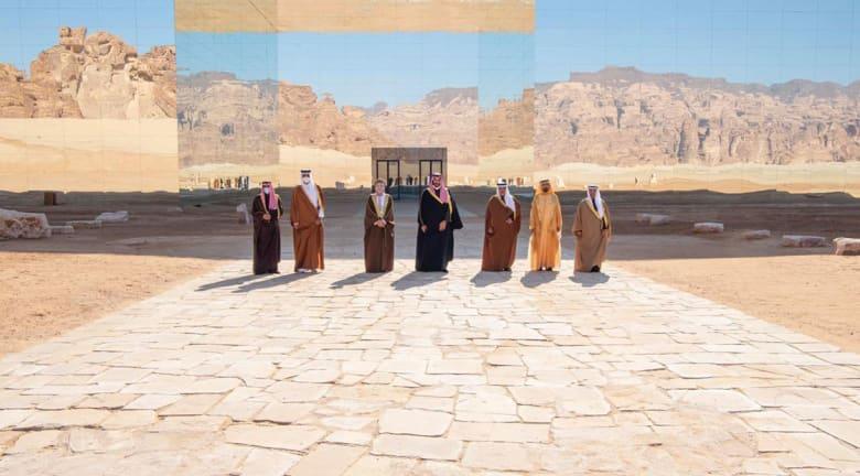 صورة القادة المشاركين بقمة العلا