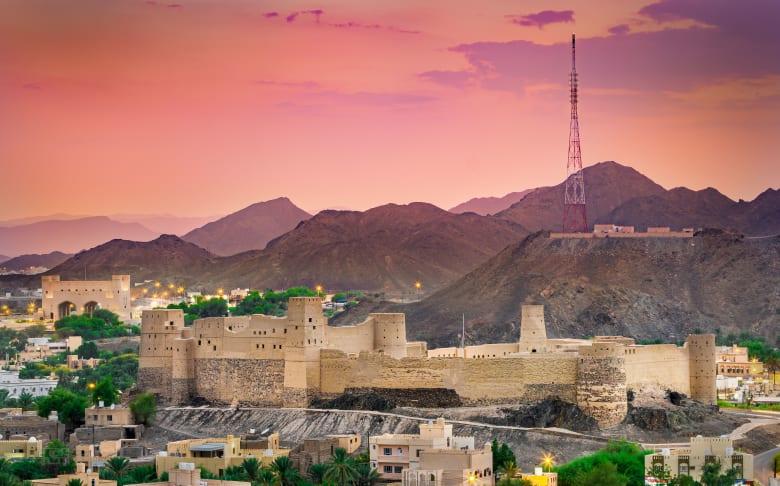 قلعة بهلا في عمان
