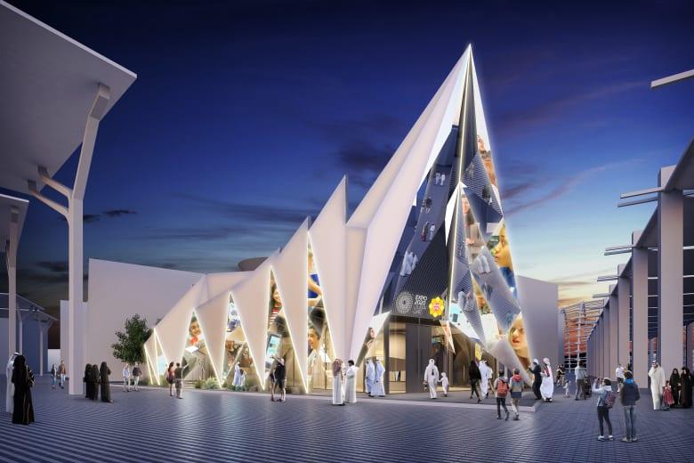تصميم مستلهم من خيمة بدوية شهدت لقاء تاريخي لتأسيس دولة الإمارات