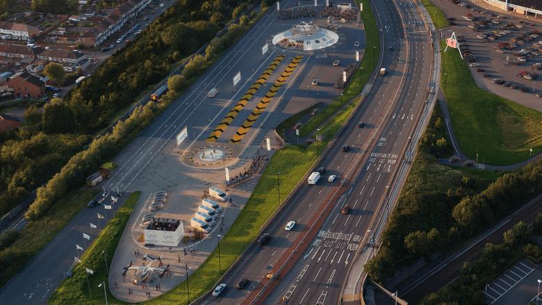 ستطلق المملكة المتحدة أول مطار حضري كهربائي لسيارات الأجرة الجوية هذا العام