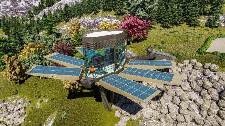 تتفتح مثل الزهور.. هل تصبح هذه الكبسولات الجبلية المستدامة حقيقة في المستقبل؟