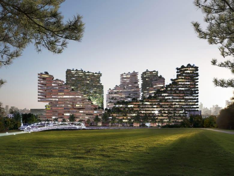 مثل كائن حي.. يتوقع هذا المفهوم المعماري مستقبلا بمباني تنمو وتتجدد بمرور الوقت