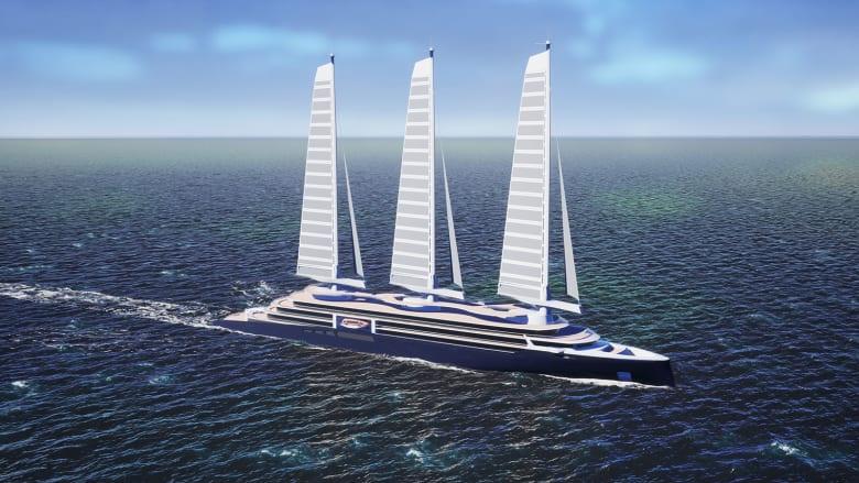 قد تقلل انبعاثات الرحلات البحرية بمقدار النصف.. ستعمل هذه السفن السياحية الصديقة للبيئة عن طريق الأشرعة