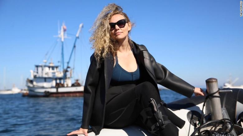 عالمة الأحياء البحرية، إريكا وولسي