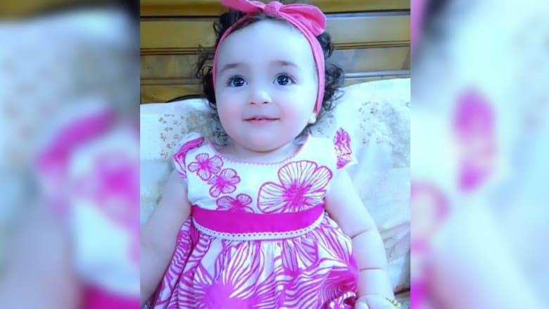 الطفلة العراقية لافين