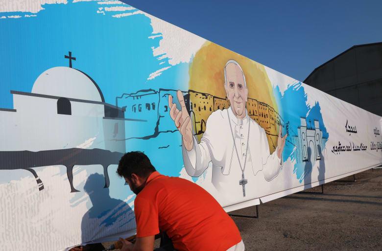بابا الفاتيكان قبيل زيارته العراق غدًا: رحلة حج كنت أرغب فيها منذ فترة  طويلة - CNN Arabic