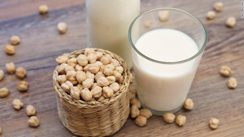 حمص مع الحليب