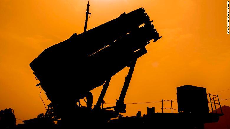 صورة أرشيفية لمظومة صواريخ باتريوت الأمريكية في تدريبات عسكرية أمريكية إسرائيلية العام 2018